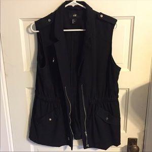 H&M vest with drawstring waist